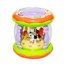 Merry Go Round Musical Drum