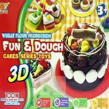 Cake Series Color Dough
