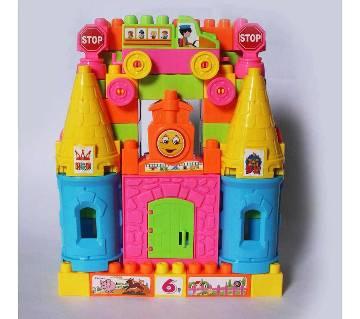 Castle Block Set Toy For Kids