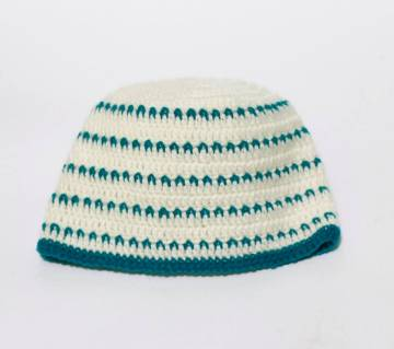 HAND MADE WOOL CAP for Baby 05