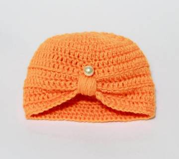 Hand Made Wool Cap for Baby