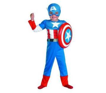 Captain America Retro Costume for Kids