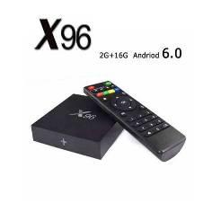 X96 4K এন্ড্রয়েড স্মার্ট TV বক্স 2GB 16GB