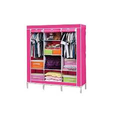 WordRob Storage Organizer for Clothes - Big Size 3 part - Pink
