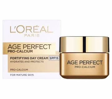 Loreal Age Perfect Pro Calcium Day Cream - GERMANY