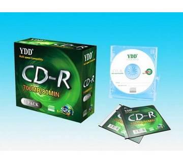 ব্ল্যাঙ্ক YDD CD-R - স্লিম বক্স