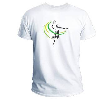 Badminton Gents Half Sleeve T-Shirt