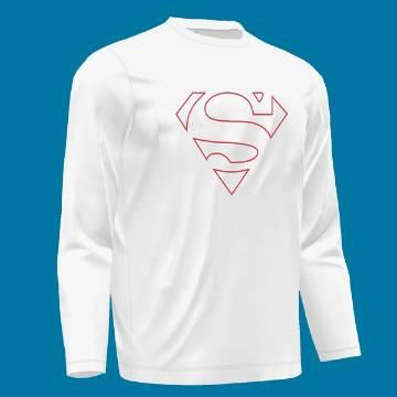 Menz  Superman Full Sleeve T-Shirt