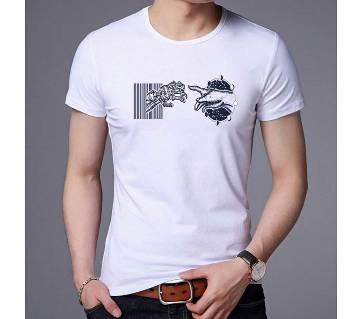 Time Travel Menz Half Sleeve T-Shirt