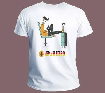 Travel Mood  Menz Half Sleeve T-Shirt