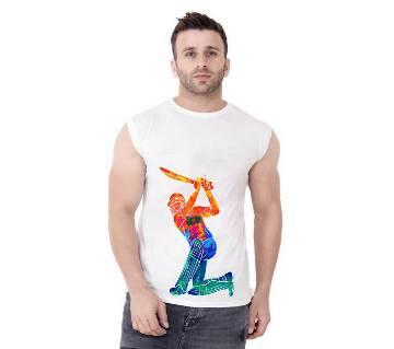 Slevveless Mens Stylish  T-Shirt