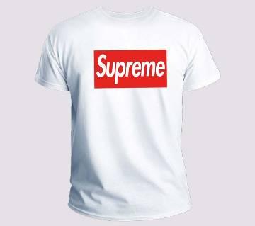 Supreme Half Sleeve T-shirt For Mens