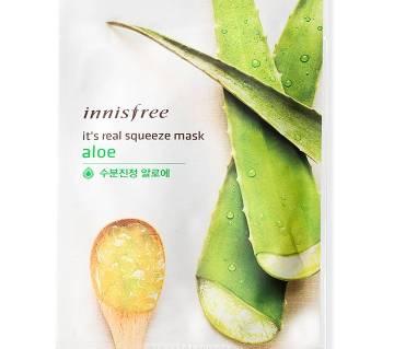 INNISFREE ফেস মাস্ক এলোভেরা - 1sheet/20ml (Korean)
