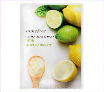 INNISFREE ফেস মাস্ক লেমন - 1sheet/20ml (Korean)