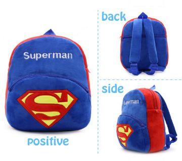 SUPERMAN Toddler বাচ্চাদের ব্যাকপ্যাক/স্কুল ব্যাগ