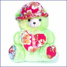 "Sof Teddy Bear Green 18""x24"""