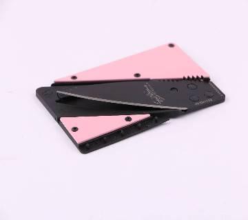 Credit Card Shape Pocket Knife