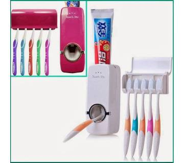 Automatic toothpaste dispenser