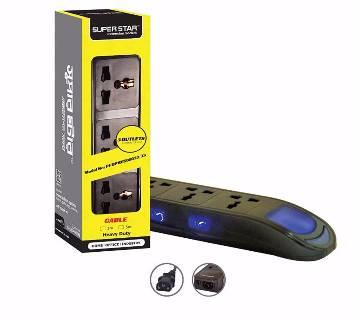 PREMIUM 3PIN Multi-Plug Black (3M)