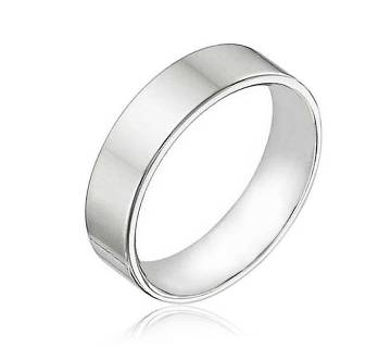 Silver Plated Finger Ring for Men - Silver