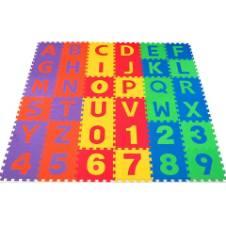 ফোম ফ্লোর আলফাবেট Puzzle ম্যাট (ছোট) - মাল্টিকালার