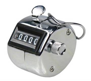 ডিজিটাল তসবিহ Tally Counter - Silver