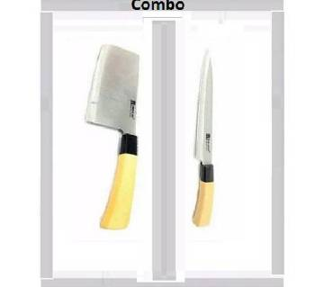 1 Piece Kitchen Knife & Meat Cutting Knife Combo