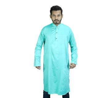 Mens Cotton Panjabi - Sky Blue