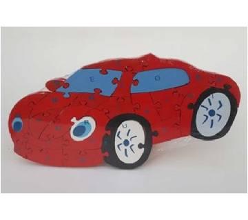 CAR SHAPE WOODEN PUZZLE