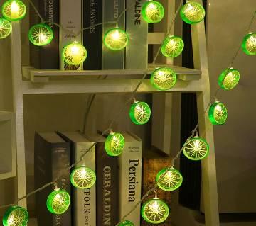 Lemon String LED Decoration Light - 10 lights
