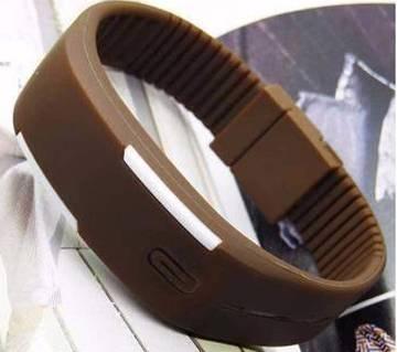 সিলিকন বেল্ট LED স্পোর্টস ওয়াচ
