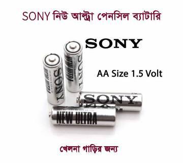 ১২ পিস SONY ১.৫ ভোল্ট পেন্সিল ব্যাটারি AA সাইজ
