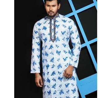 stylish semi long panjabi