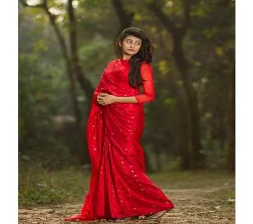 জামদানি সিল্ক শাড়ি