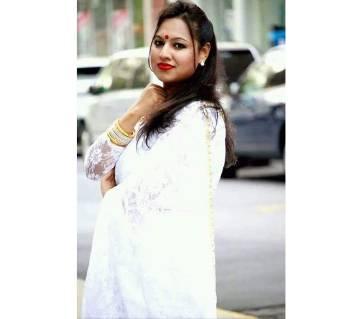 Indian Soft Net Sharee