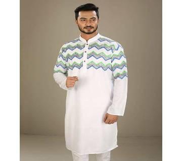 stylish boishaki panjabi