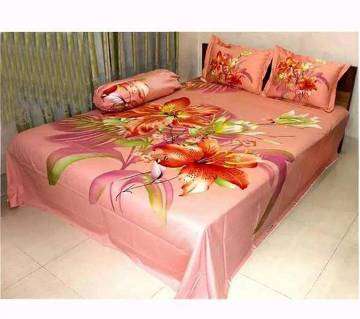 double size cotton  bed cover