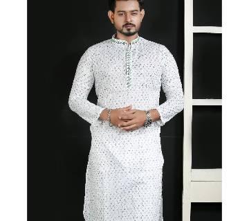semi long Cotton panjabi