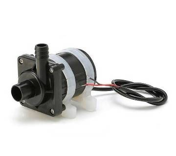 12V DC Submersible Water Pump black