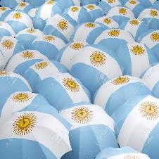Argentina ফ্ল্যাগ আমব্রেলা (১ টি)