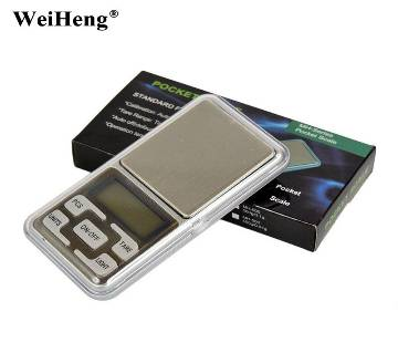 Mini Digital Portable LCD Electronic Weighing Scale-0.01-200G
