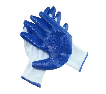 Safety Gloves Nylon With Nitrile Coated