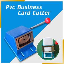 Manual PVC card cutter