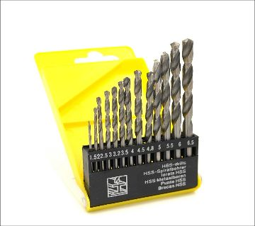 13pcs/lot HSS High Speed Steel Cobalt Drill Bit Set