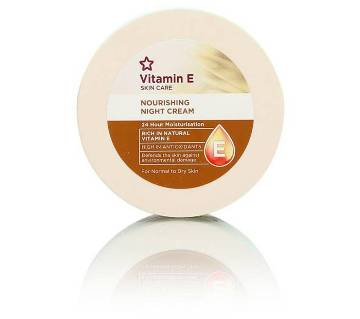 Superdrug Vitamin E Night Cream 100ml - UK