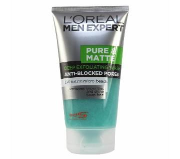 loreal-men-expert-pure-matte-scrub-face-wash-150ml