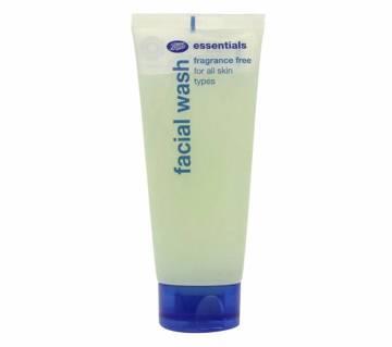 Boots Essentials Fragrance Free Facial Wash - 150ml