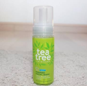 Superdrug Tea Tree Foam Facial Wash