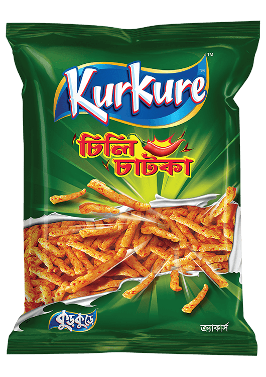 Kurkure Chili Chatka Chips 90 gm