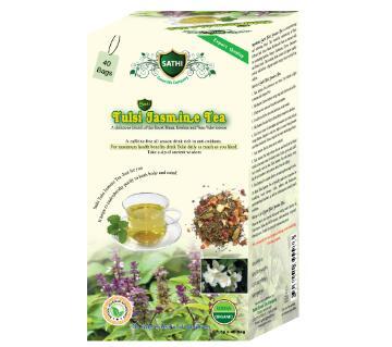 Tulsi Jasmin Tea 40 Tea Bags-BD